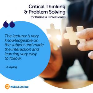 Online Review: Critical Thinking