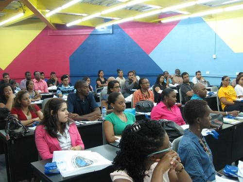 Masters Students at the Trincity Campus