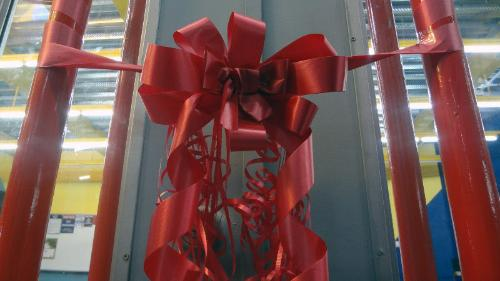 No present is complete without a bow.