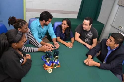 Teleios Code Jam teams with Lecturer, Derek Haqq