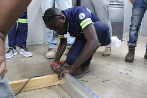 SBCS City & Guilds Electrical, Plumbing and AC Students Undertake Practical Construction Exercises